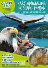 Parc animalier de Serre Ponçon